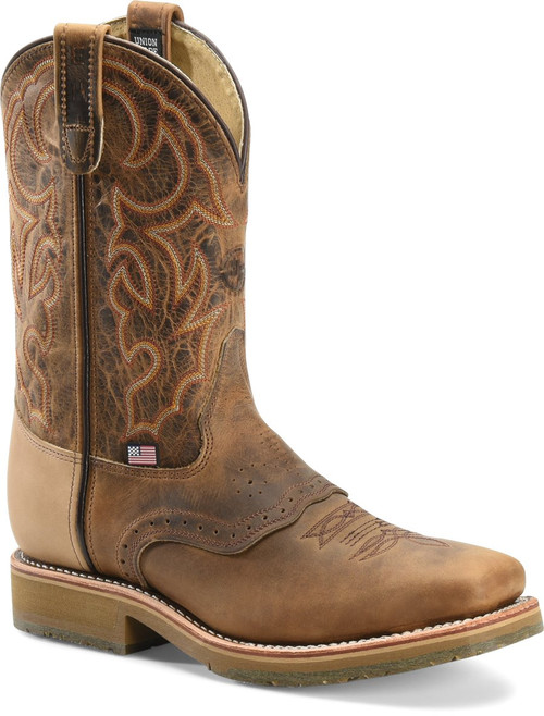 Double H Men's Roper Ice Steel Toe Western Work Boot 3567
