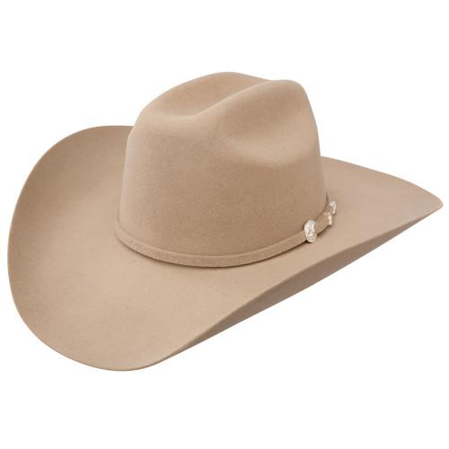 STETSON 4X SILVER SAND CORRAL FUR FELT COWBOY HAT