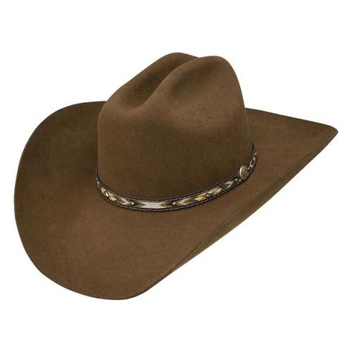 STETSON BUFFALO COLLECTION WHITMORE OAK BROWN COWBOY HAT