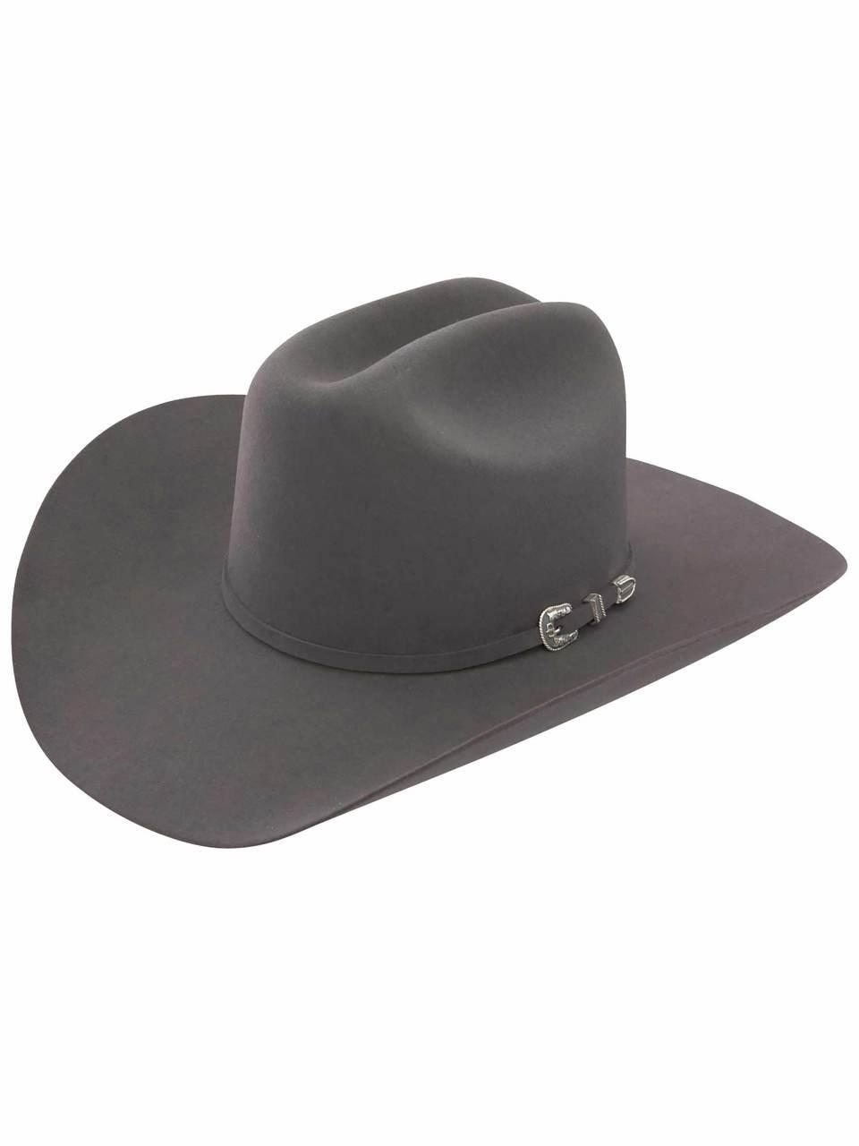 96aa4a3ee725b5 STETSON SKYLINE GRANITE GREY 6X FUR FELT COWBOY HAT - Jackson's Western