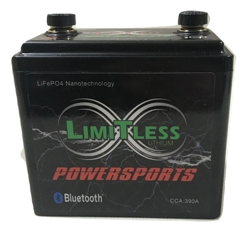 Powersports Limitless Lithium 7.5AH (With Bluetooth)