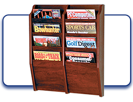 Magazine, Catalog, and Brochure Organizers