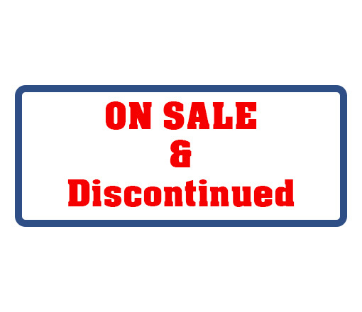 On Sale & Discontinued