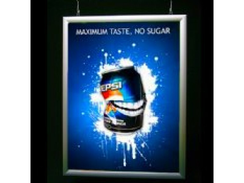 Double Sided LED Graphic Display Frame
