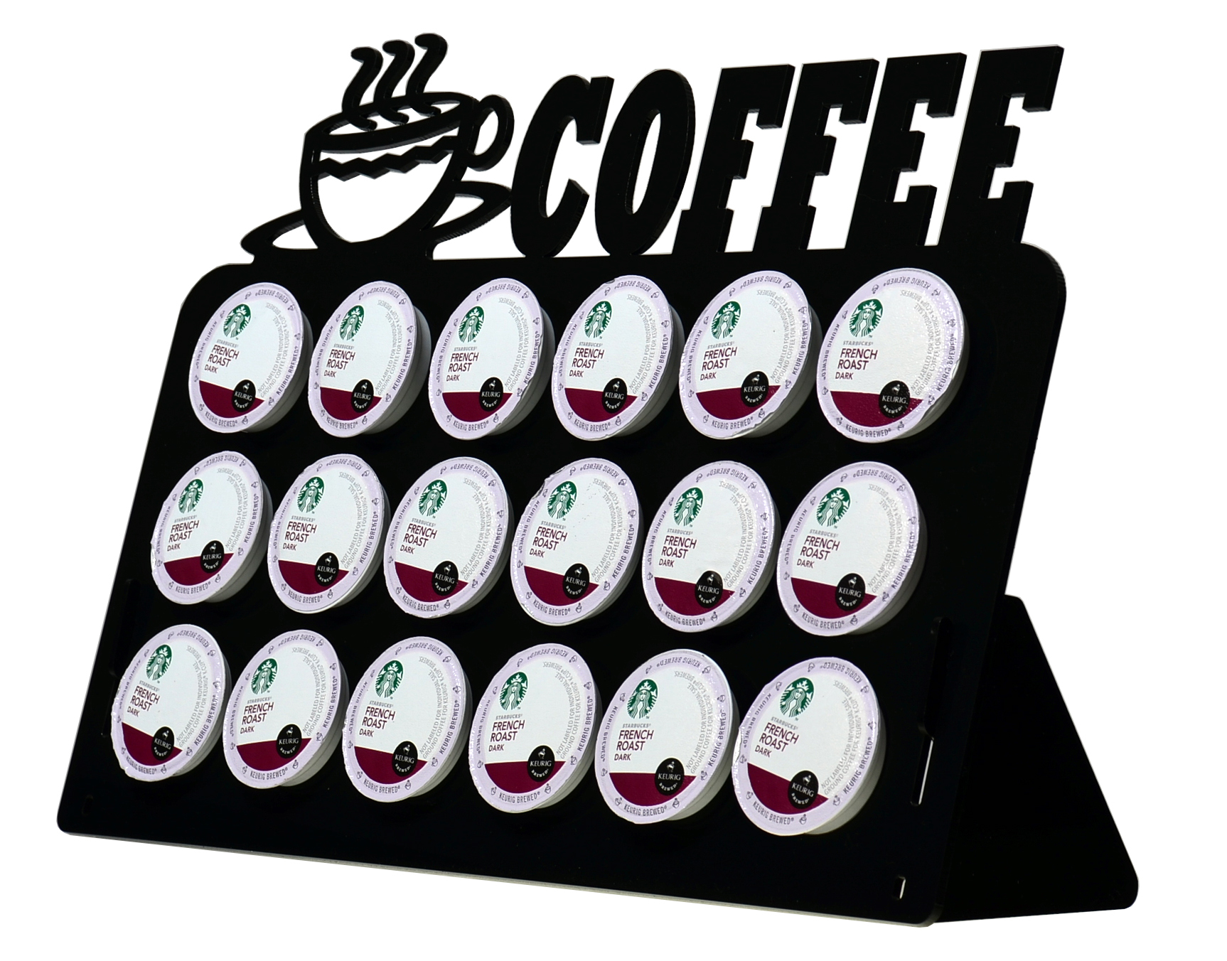 Coffee Shaped Coffee Pod Holders