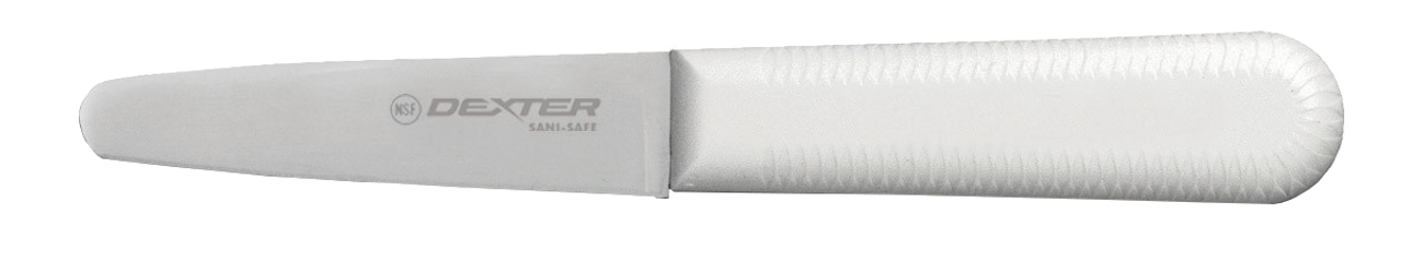 The s129 clam knife has a robust blade to open any clam