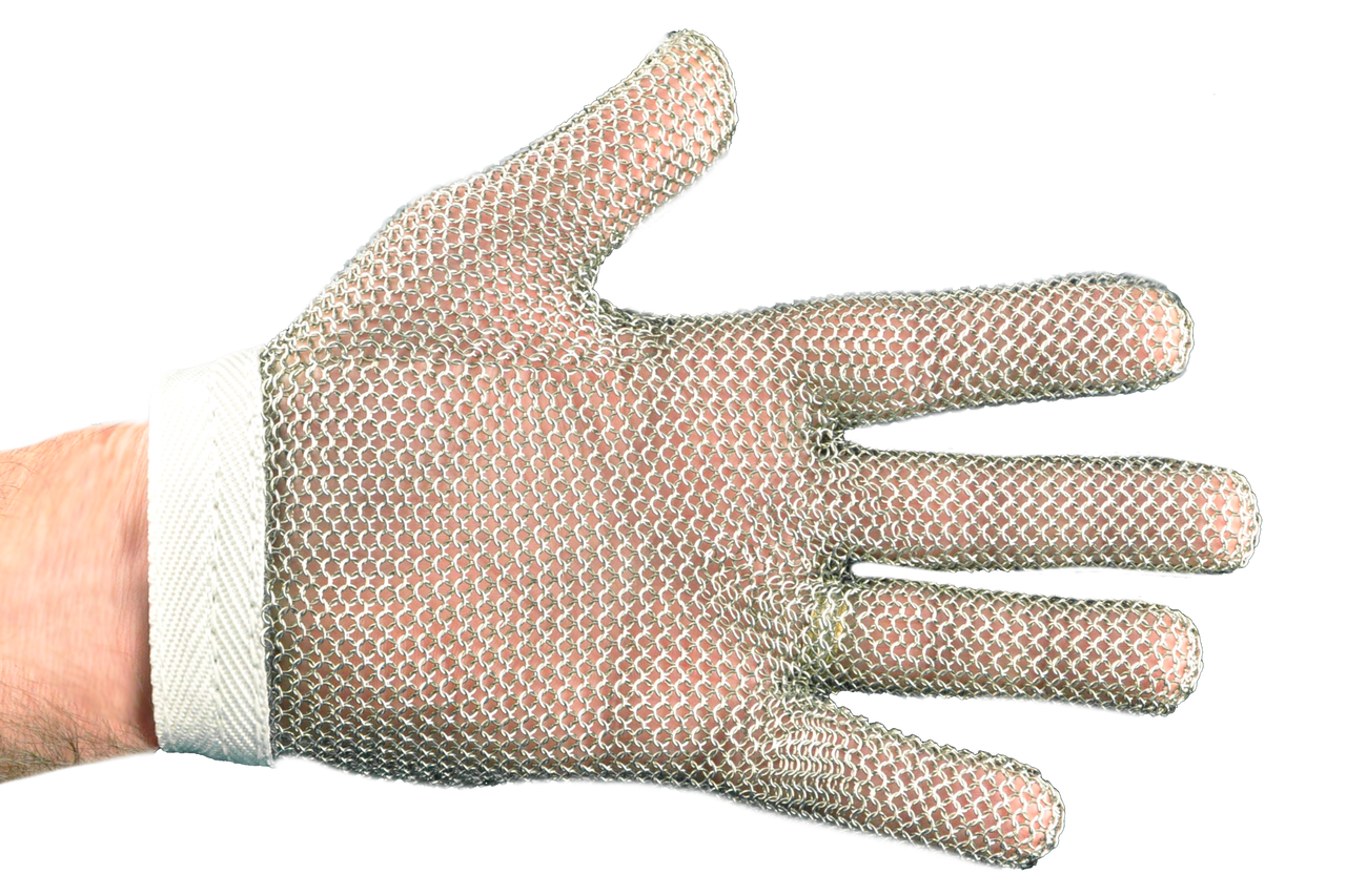 SSG2 stainless mesh glove size large