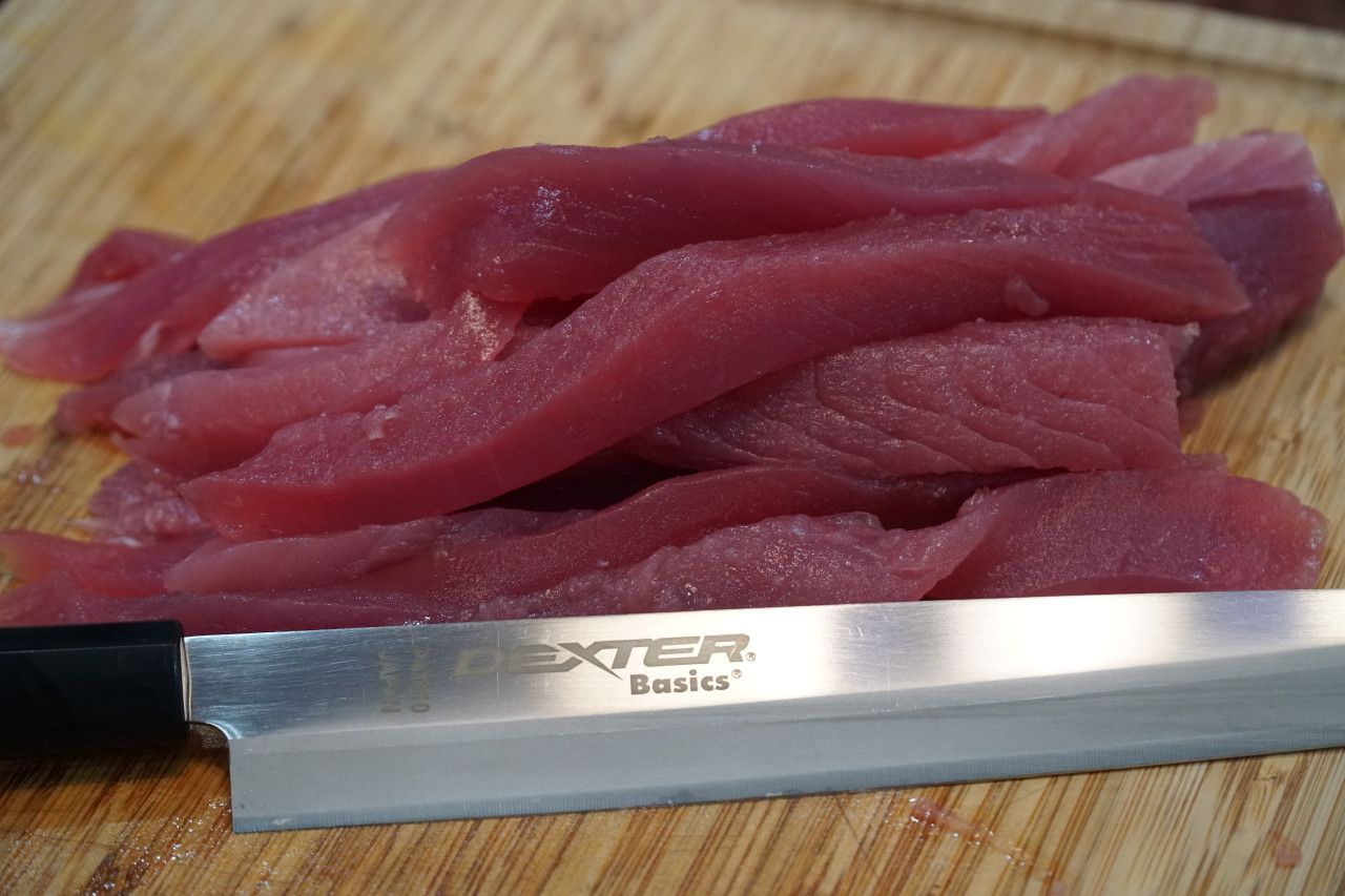 The Dexter P47010 make great sashimi