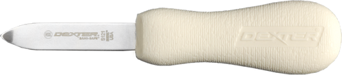 S121 New Haven patter oyster knife with bent tip