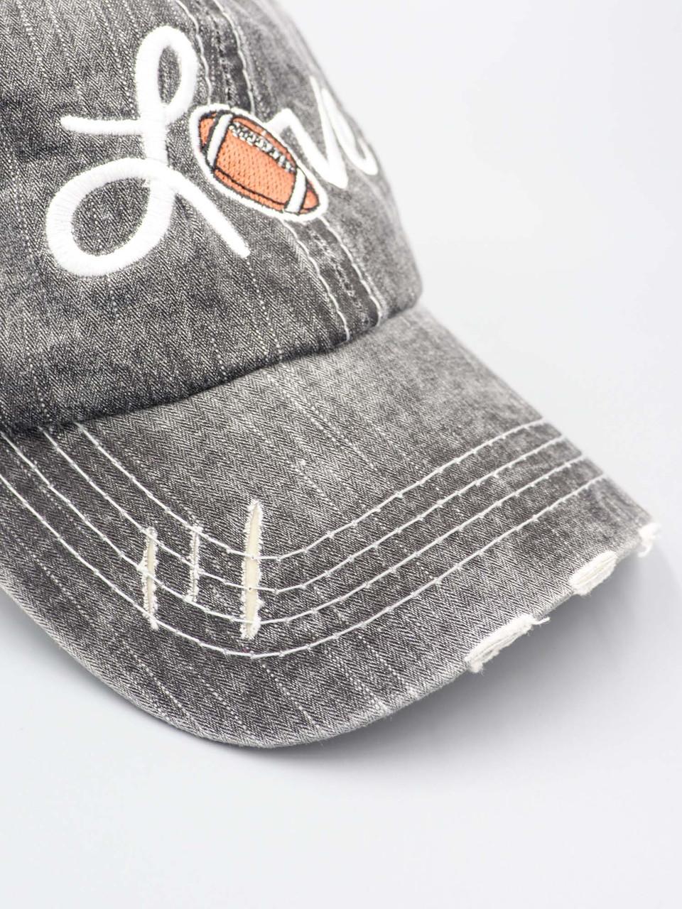 love football trucker hat katydid