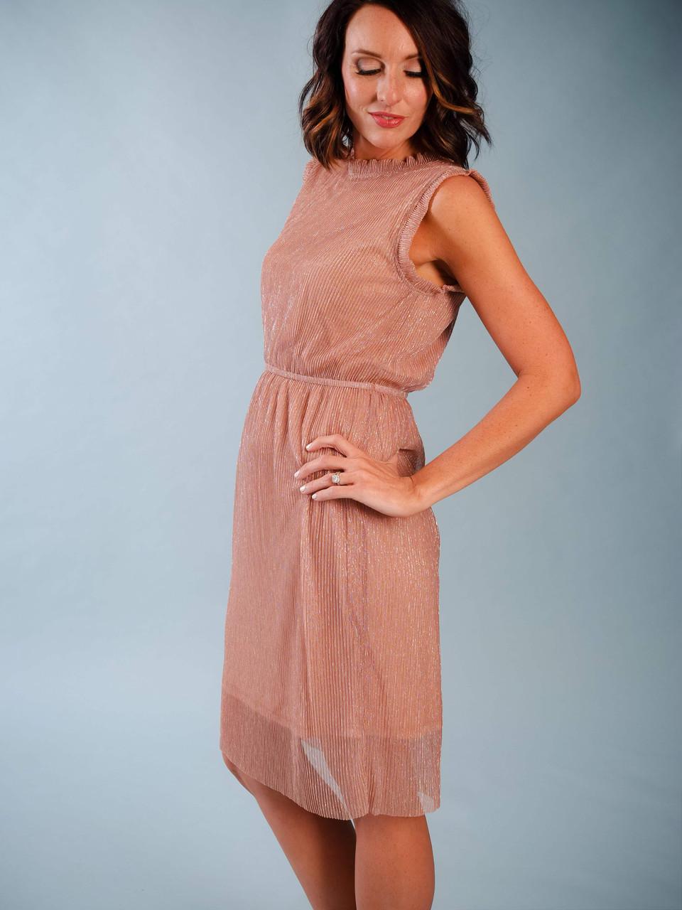 Sleeveless Voile Dress