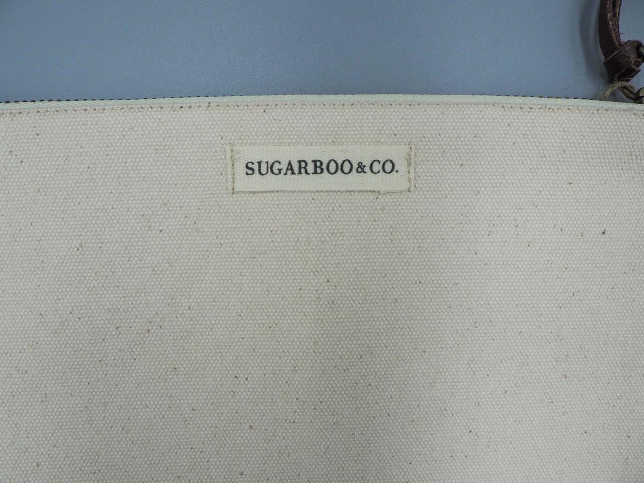elizabeth taylor canvas pouch sugarboo
