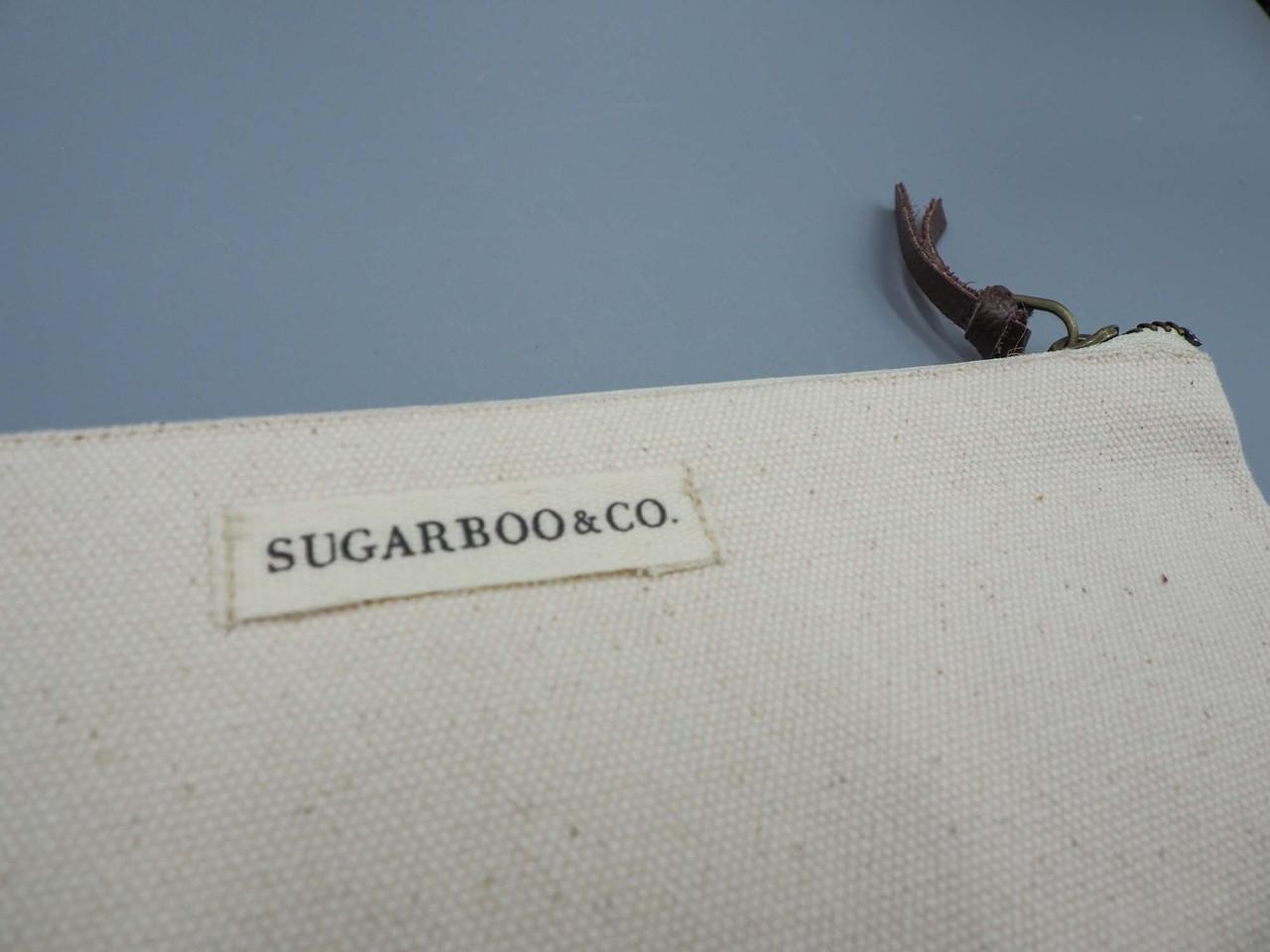 E.E Cummings canvas pouch sugarboo