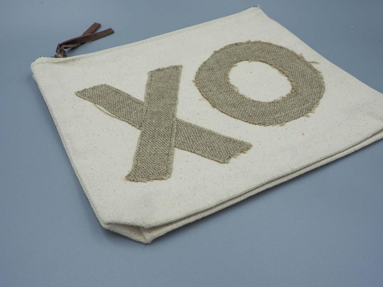 XO canvas pouch sugarboo