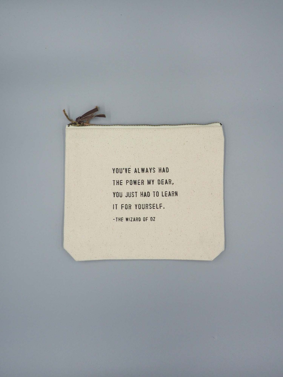 Wizard of oz canvas pouch sugarboo