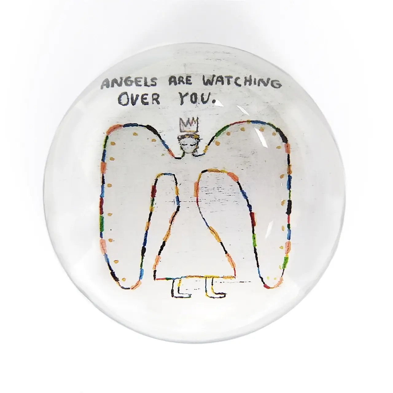 Paperweight - Angels Are Watching Over You