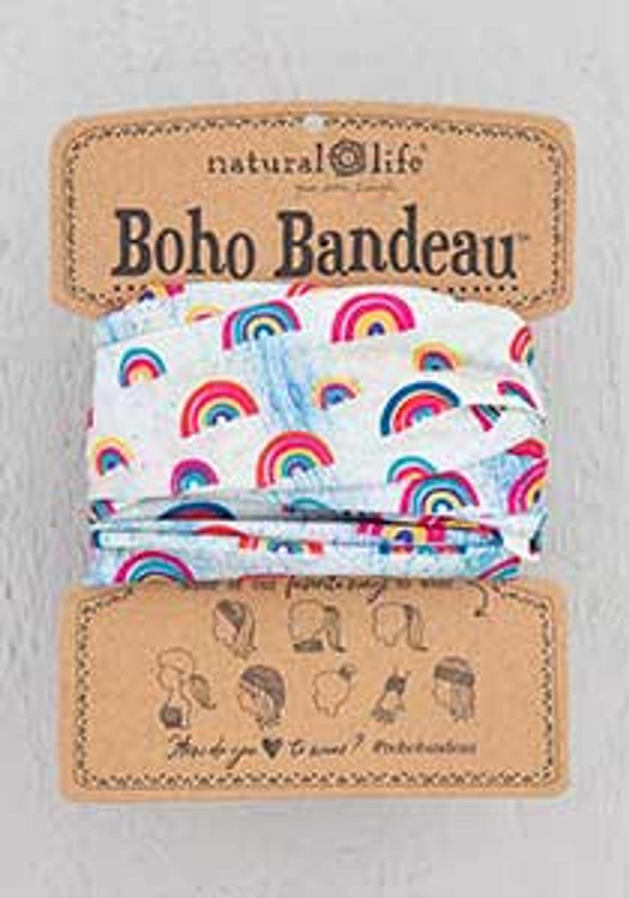 rainbows boho bandeau natural life
