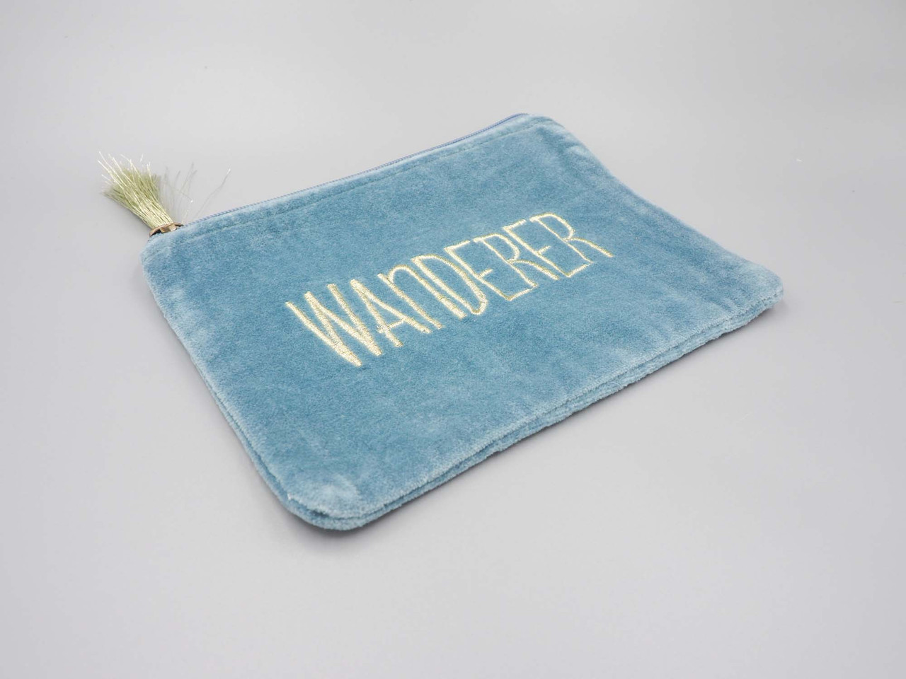 cosmetic and jewelry zip pouch