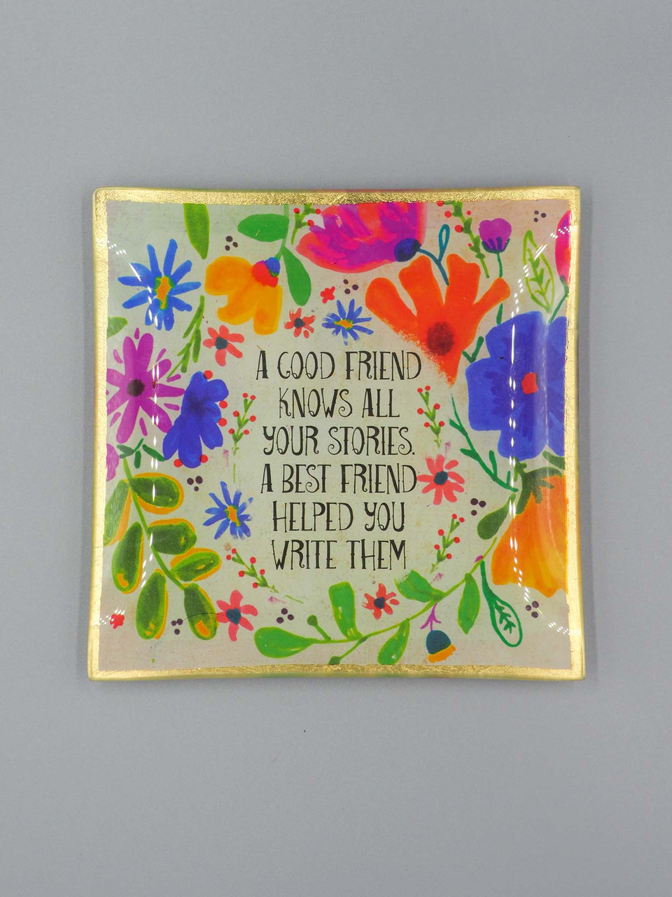 good friend trinket tray natural life
