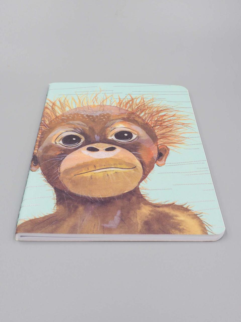 baby monkey notebook studio oh