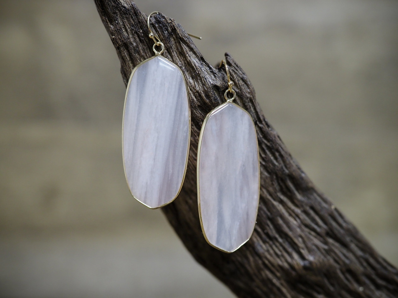 Translucent Drop Earring