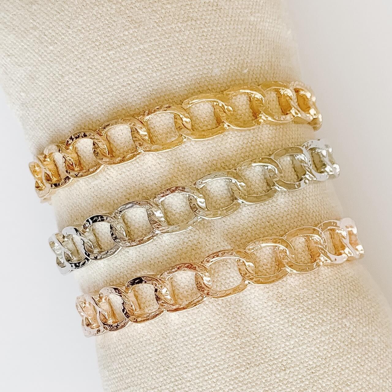 Link Cuff Bracelet