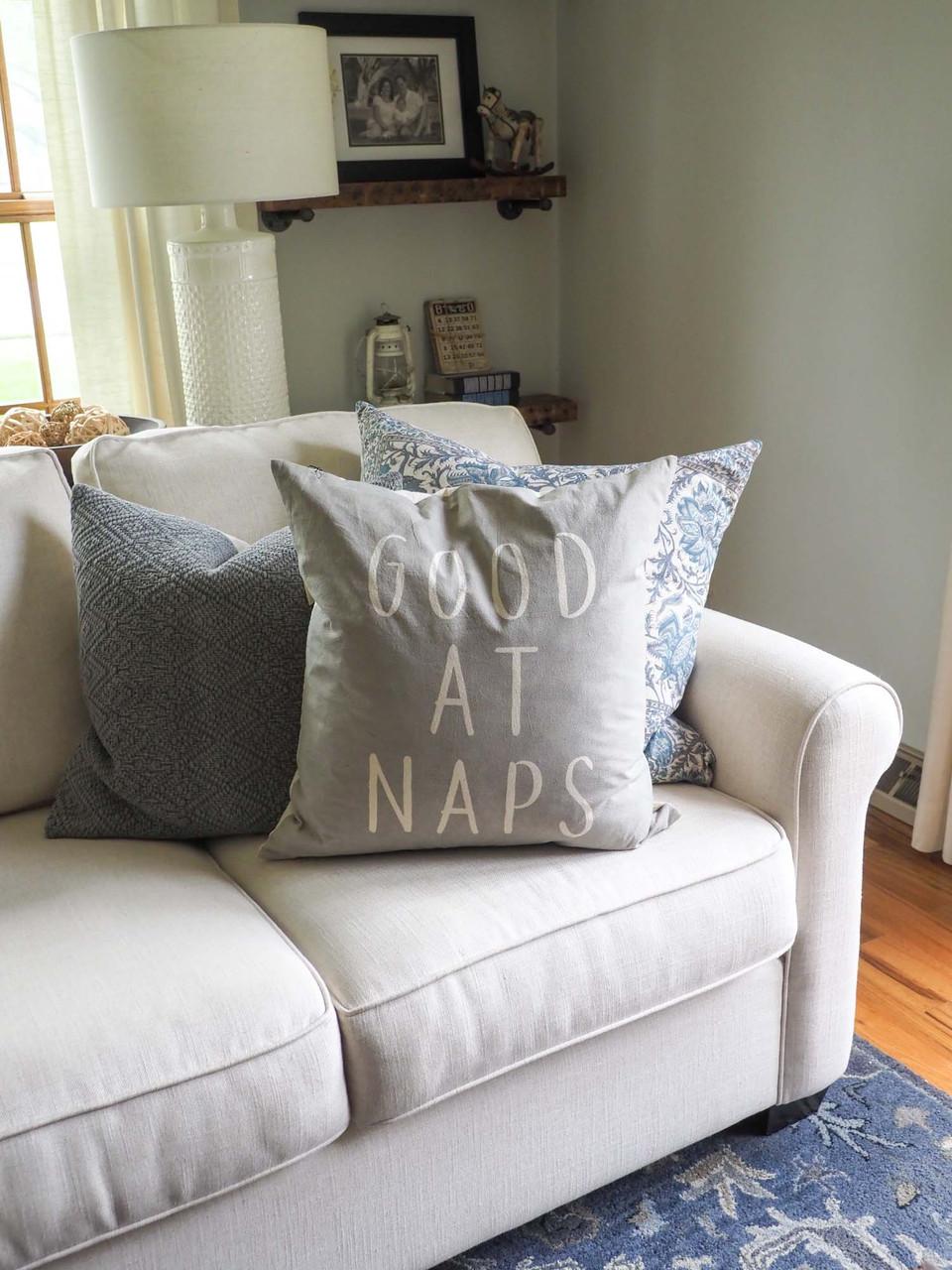 good at naps pillow indaba