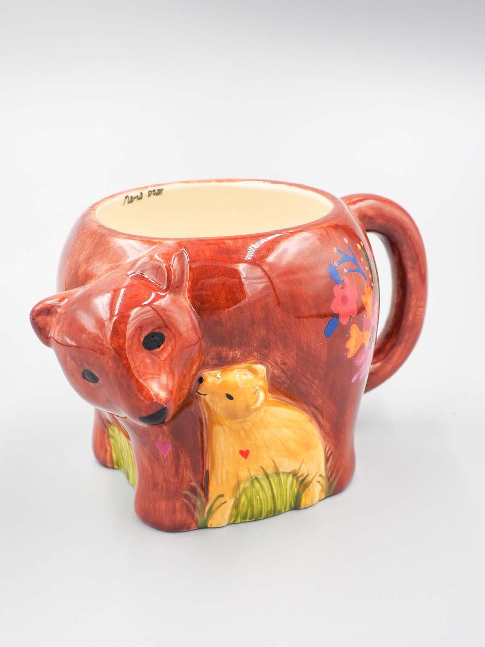 mama bear folk mug natural life