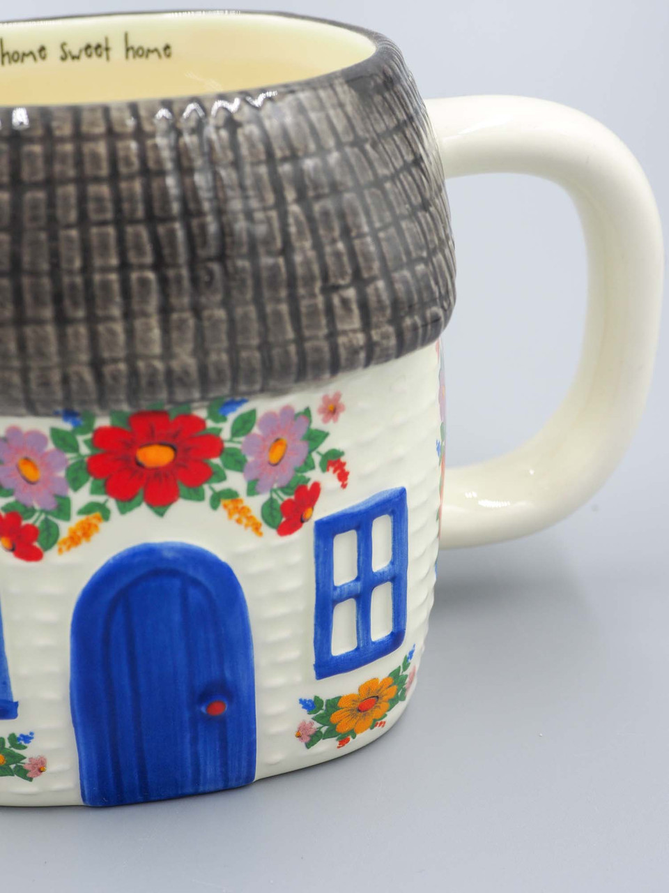 cottage mug home sweet home natural life