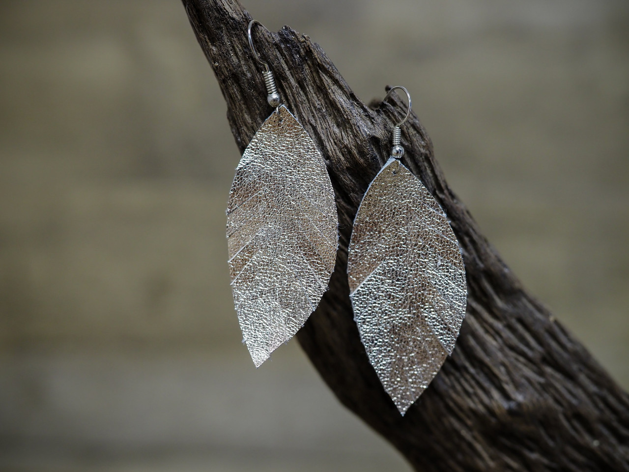 Feather Frenzy Leather Earring