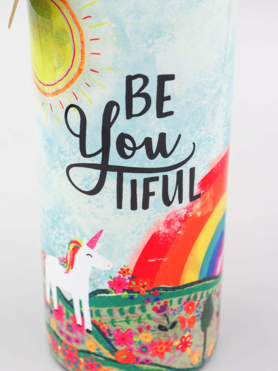 beyoutiful you natural life traveler water bottle