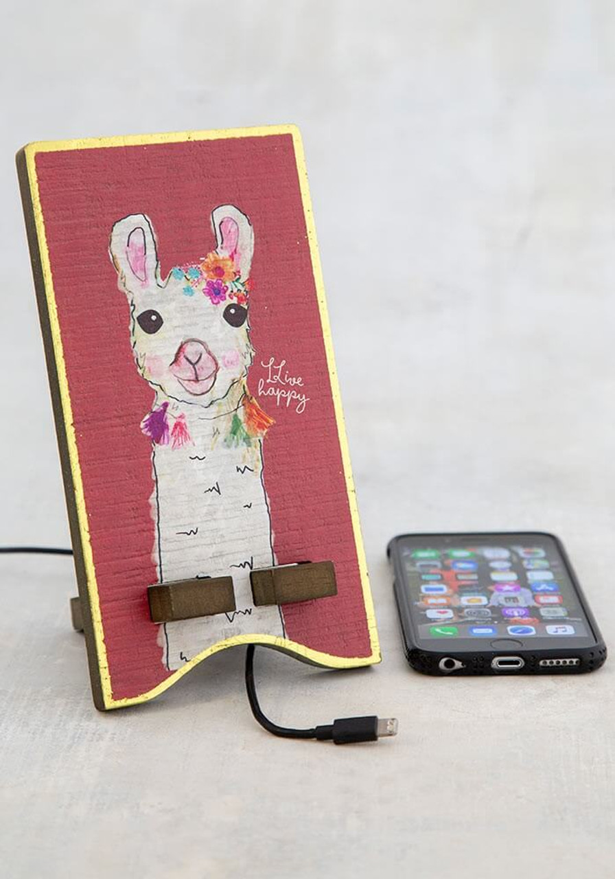 LLive happy phone stand natural life