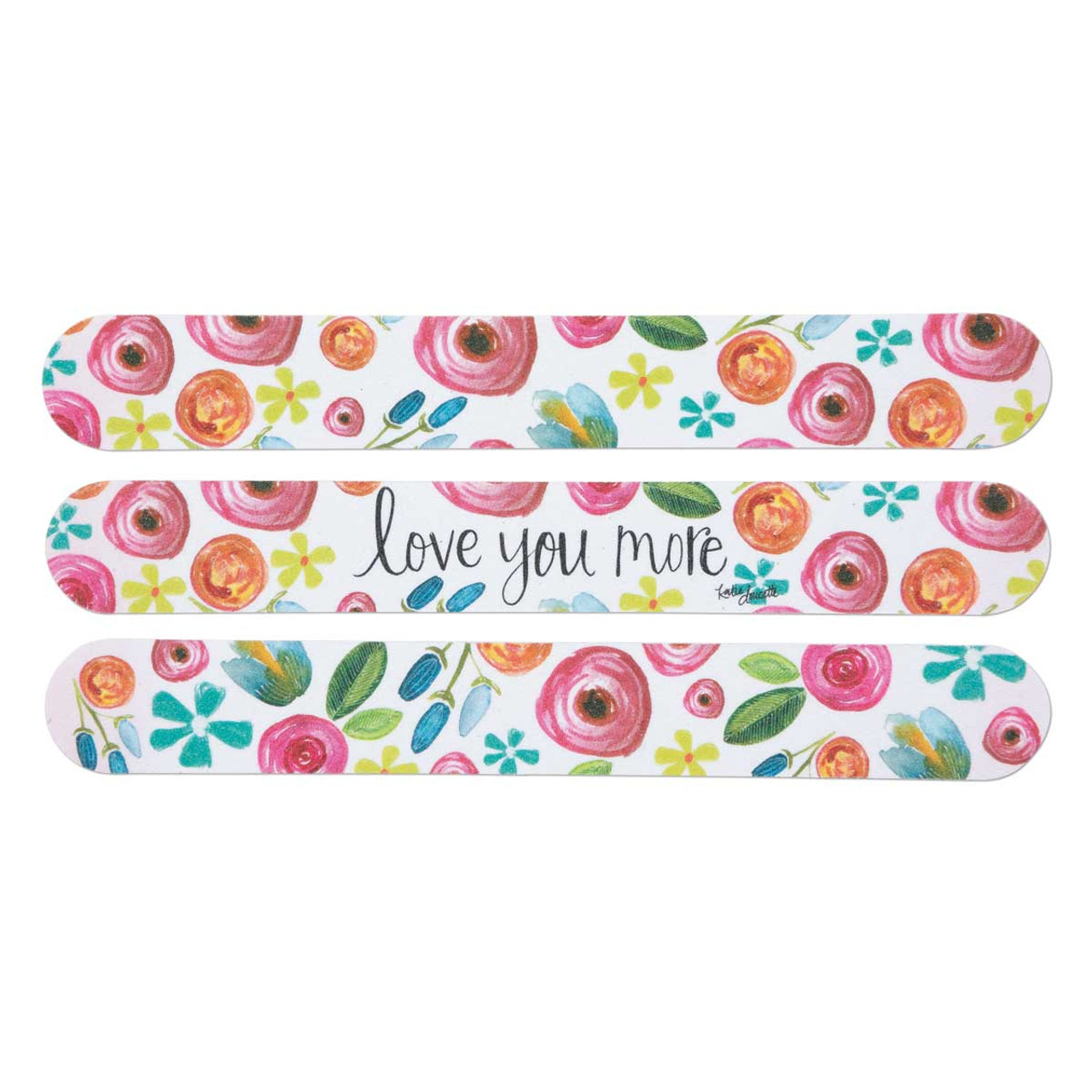 love you more emery board set brownlow gifts