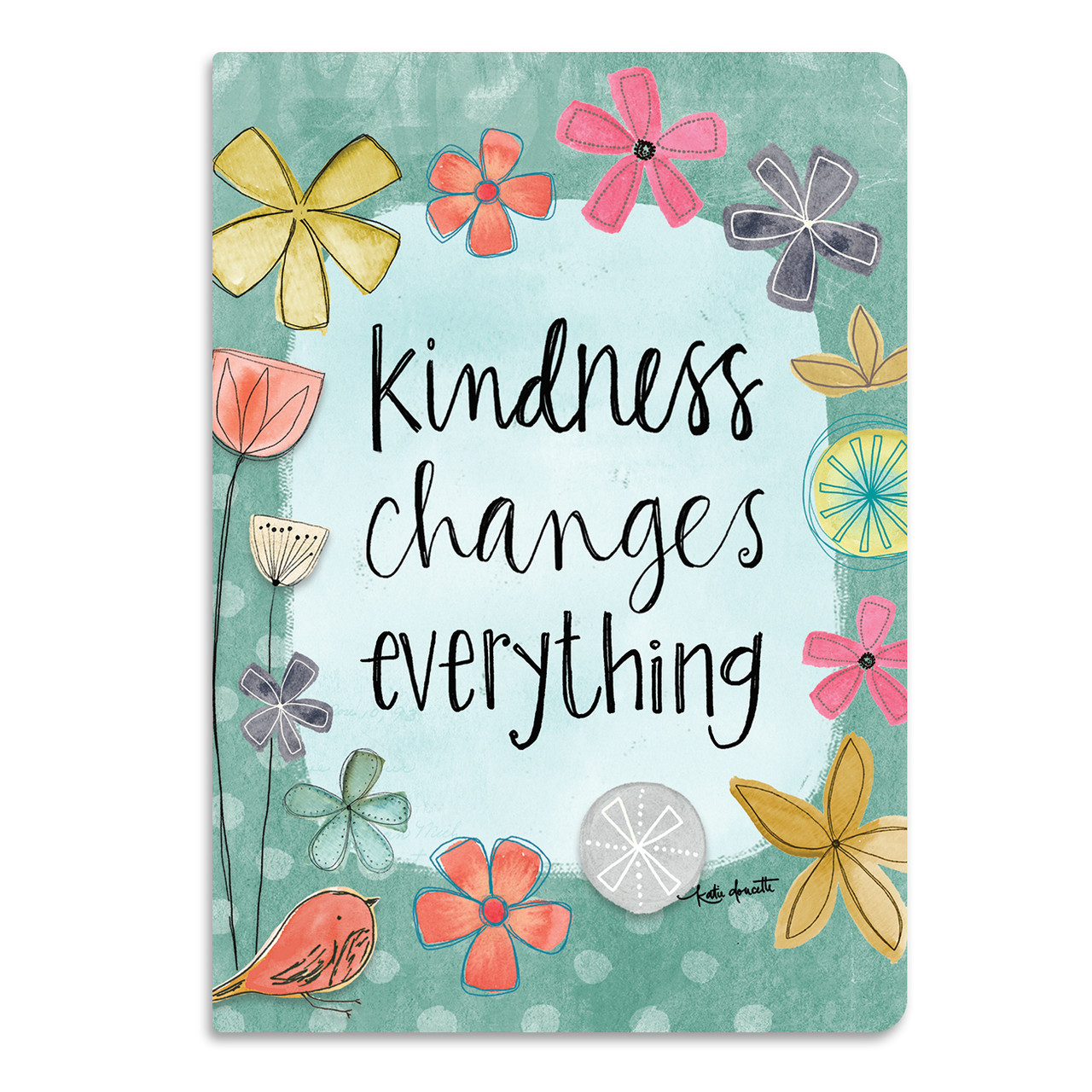kindness changes everything softcover journal brownlow gifts
