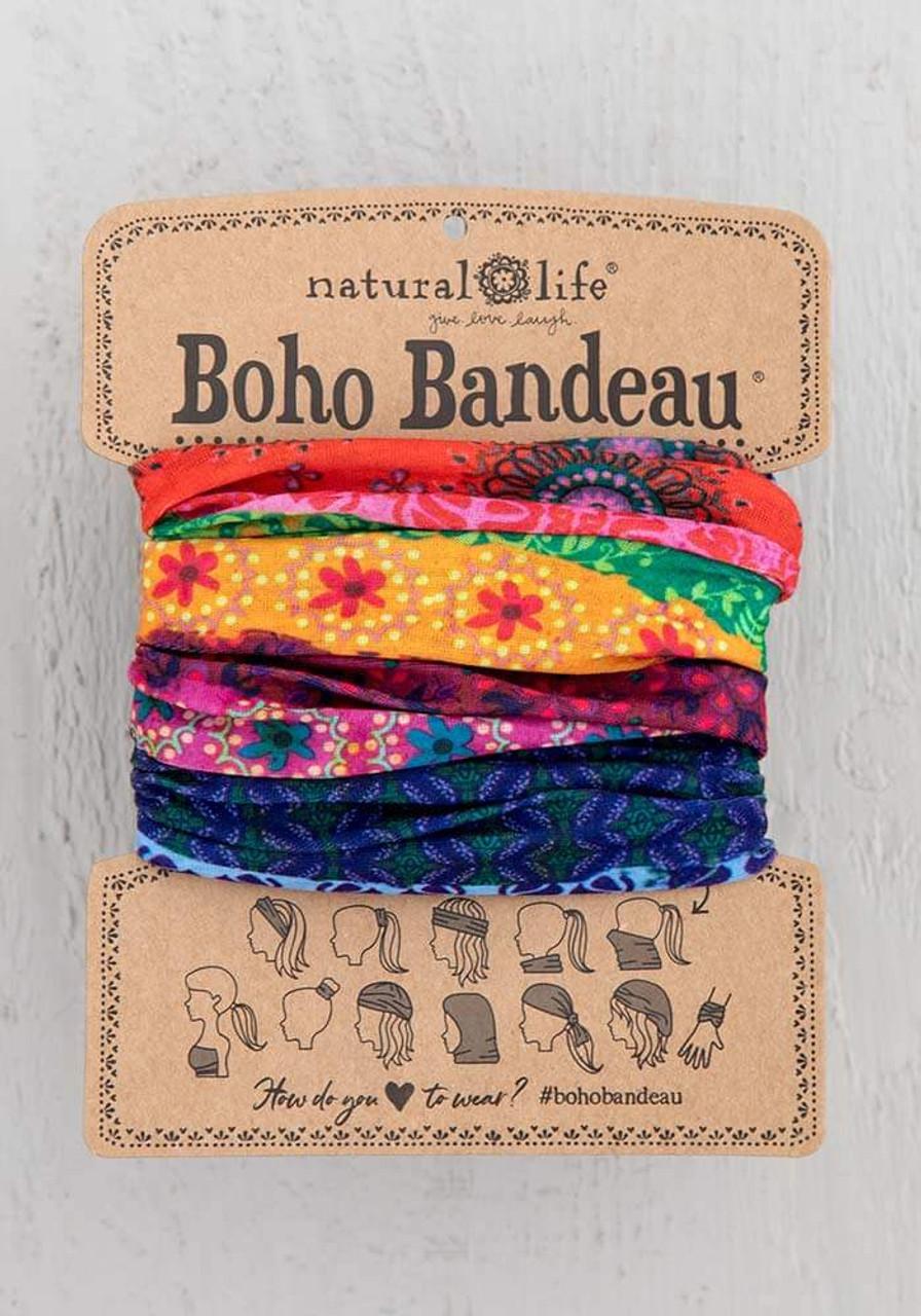 Mixed Print Boho Bandeau