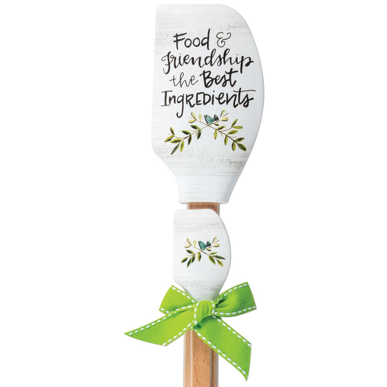 food and friendship the best ingredients double spatula