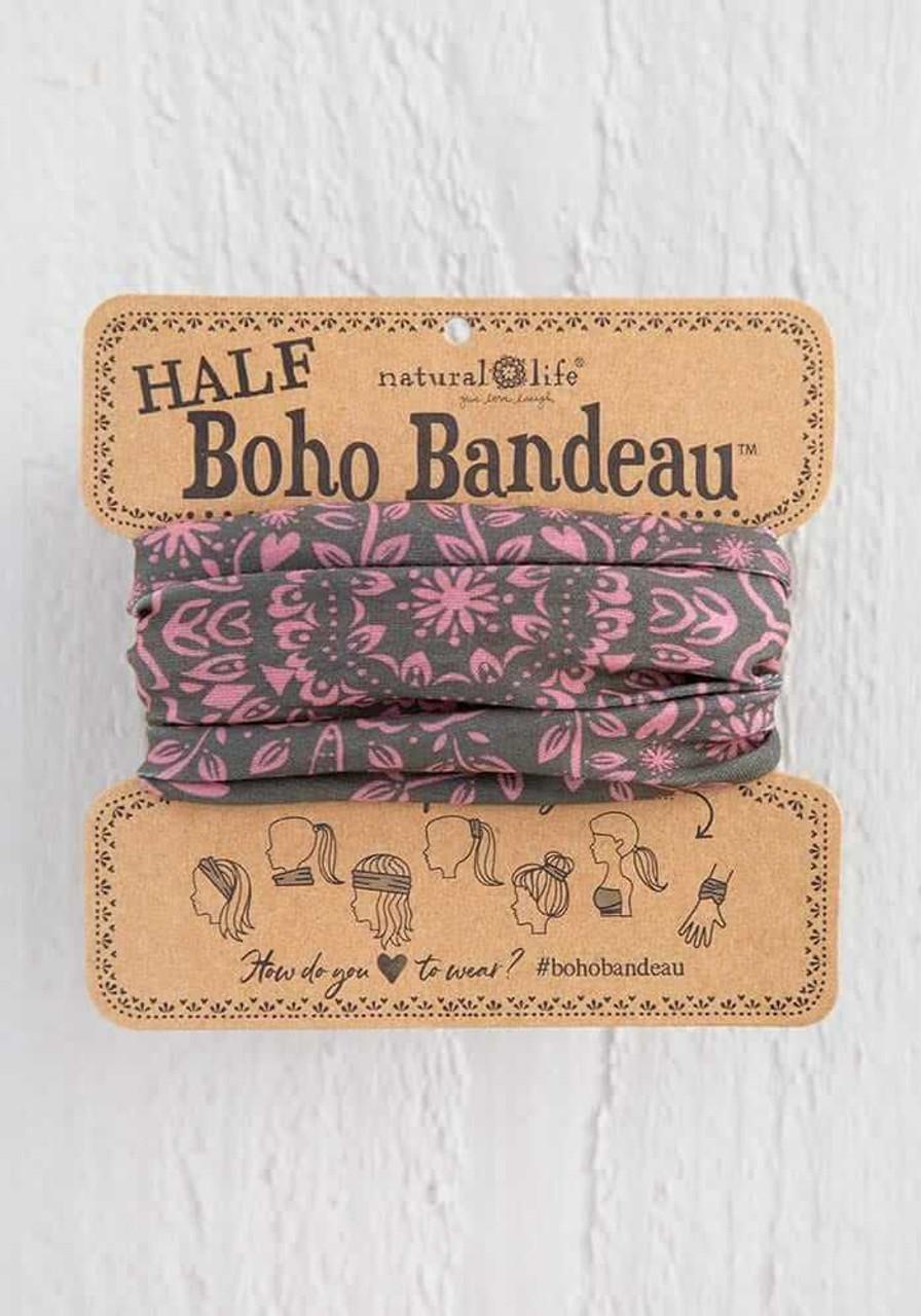 Olive Mandala Half Boho Bandeau