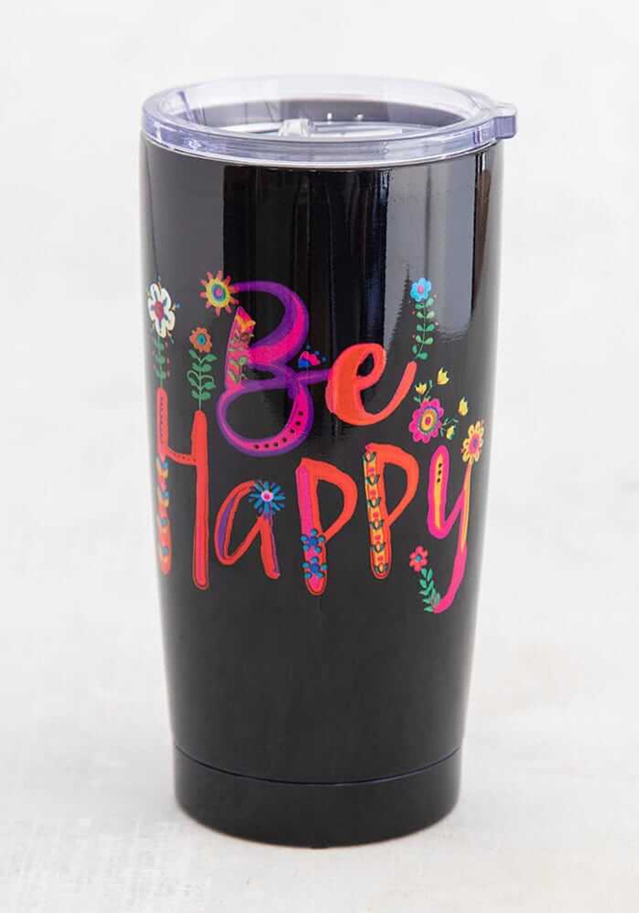 Be Happy Water Tumbler