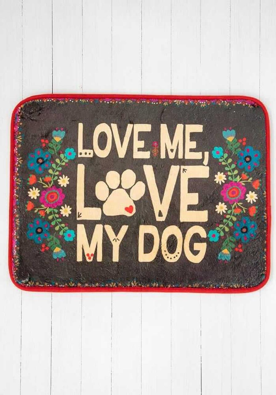 Love Me Love My Dog Drying Mat