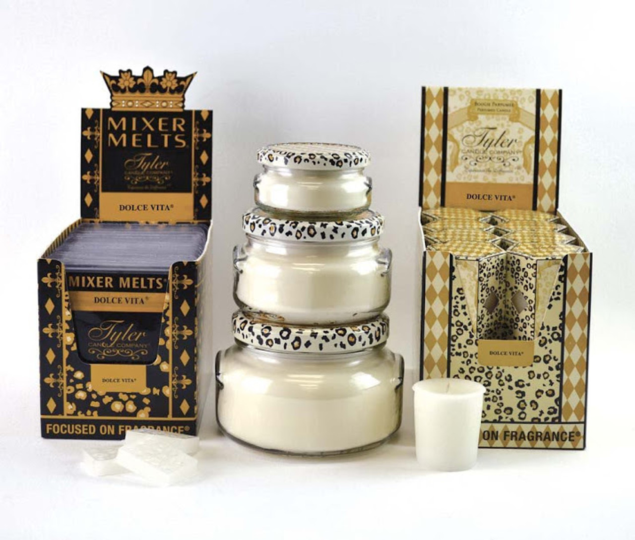 Mixer Melts DOLCE VITA® Tyler Candle Company