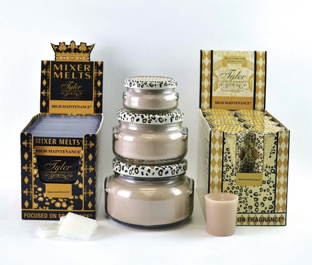 3.4 oz High Maintenance Candle Tyler Candle Company