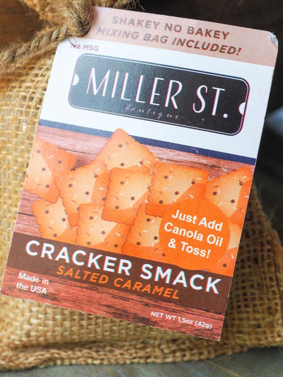 salted caramel cracker smack