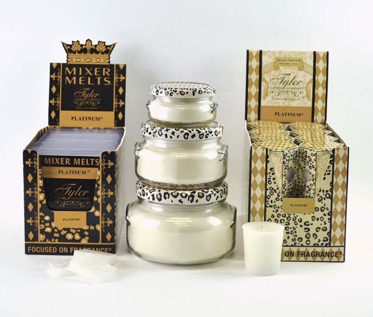3.4 oz Platinum Candle Tyler Candle Company