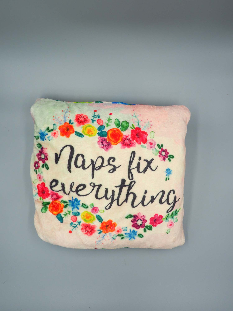 naps fix everything pillow and blanket natural life