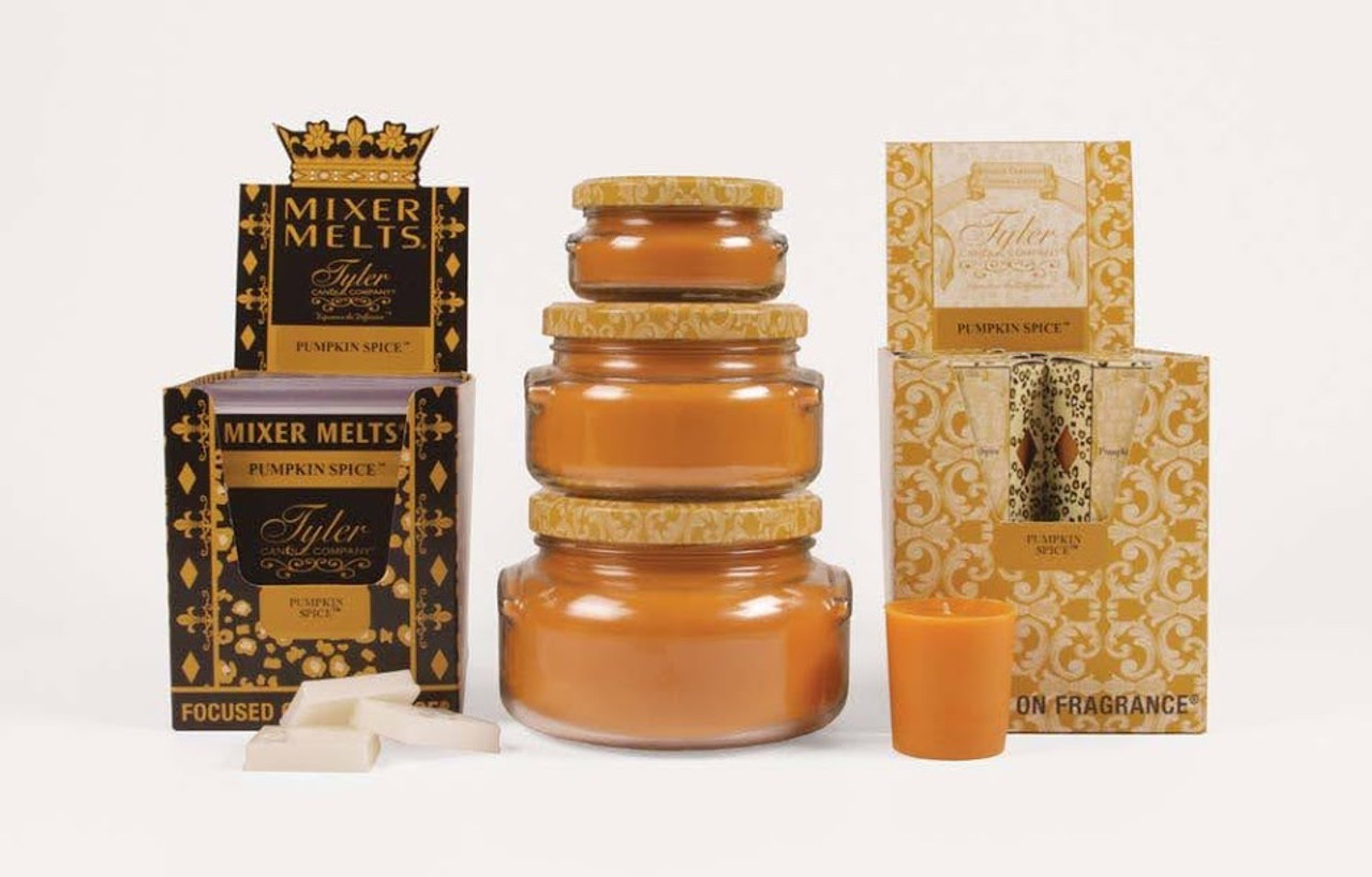 Pumpkin Spice Votive Tyler Candle Company