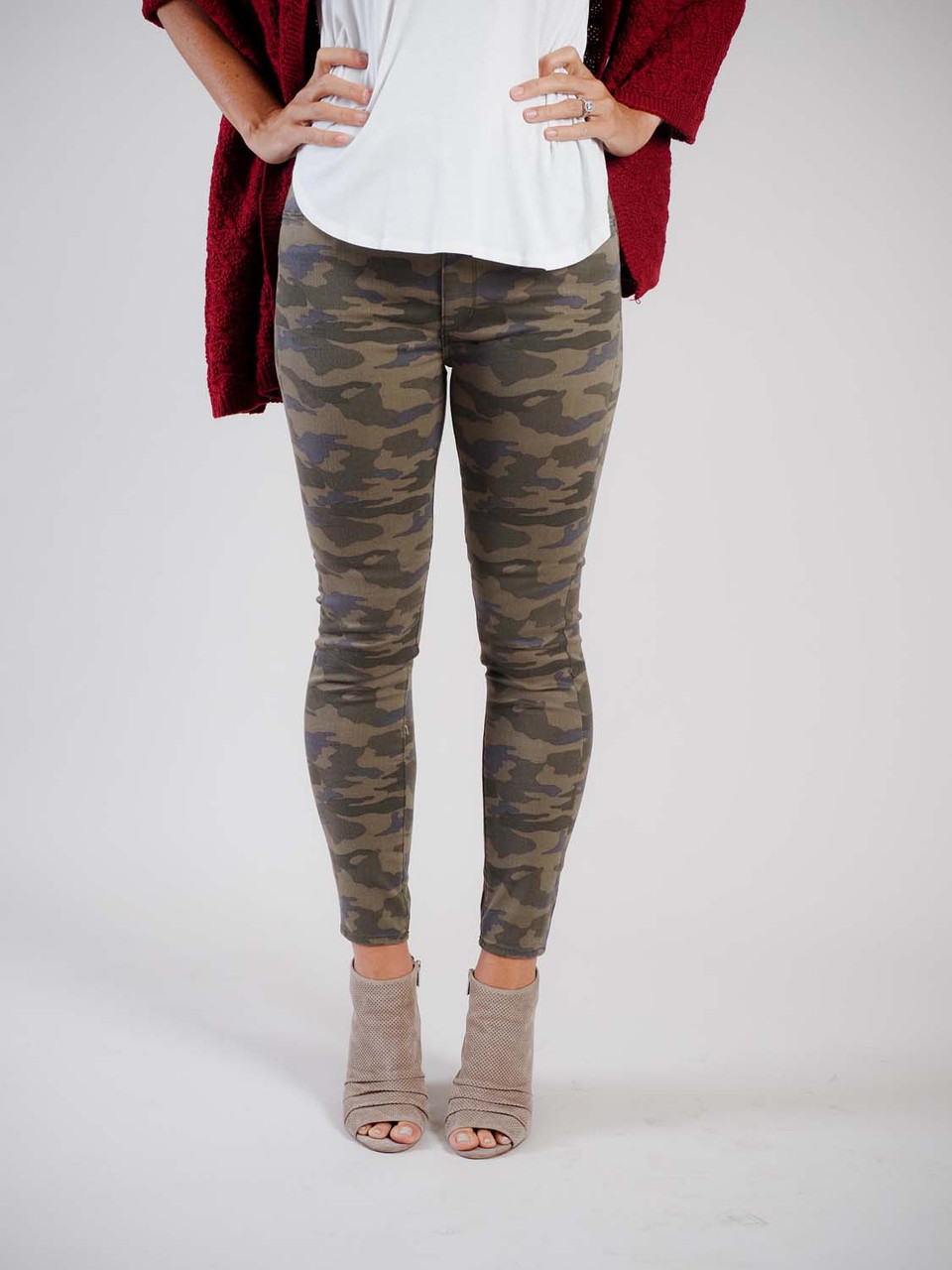 articles of society camouflage jeans