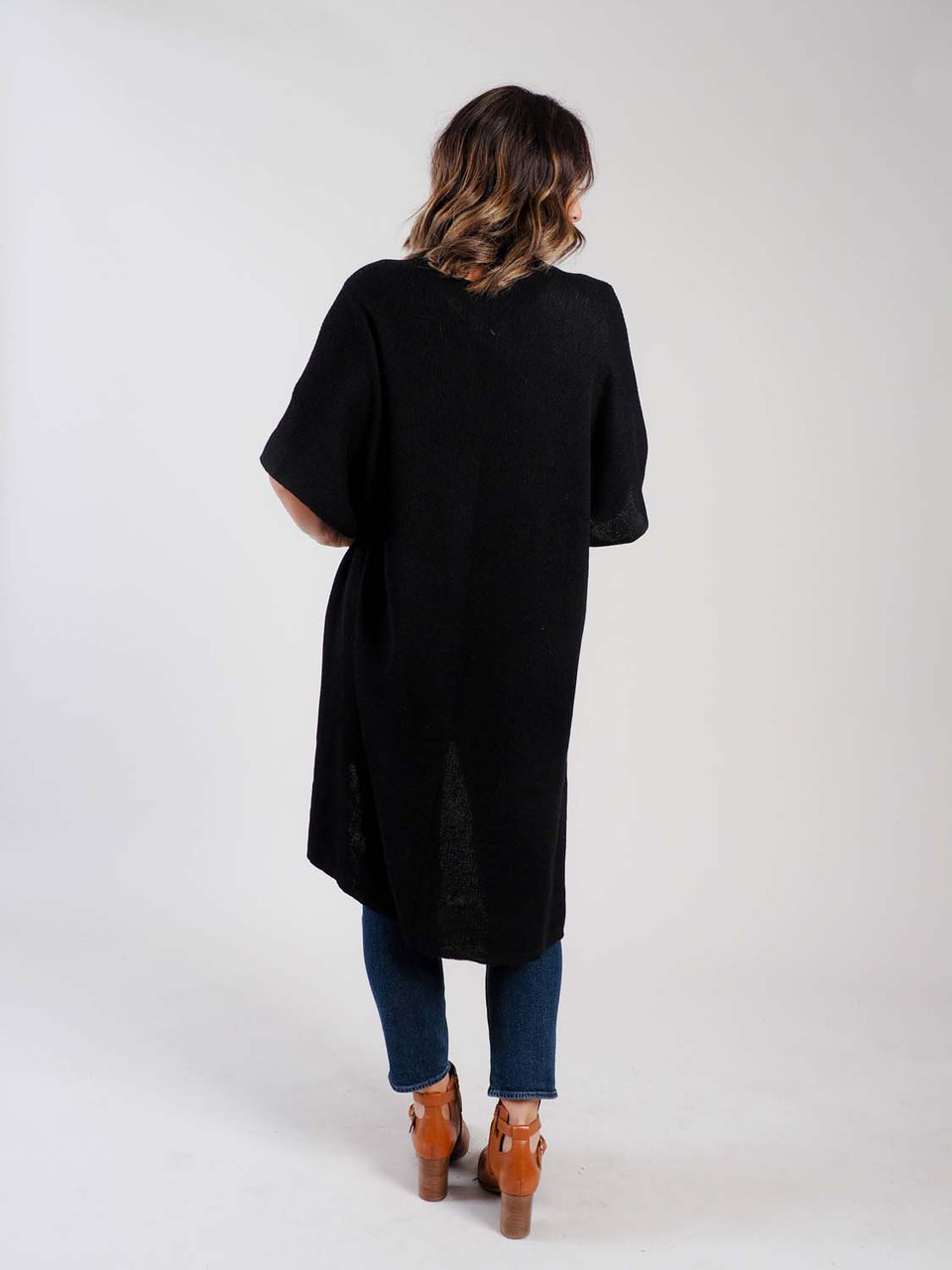 recycled knit duster demdaco