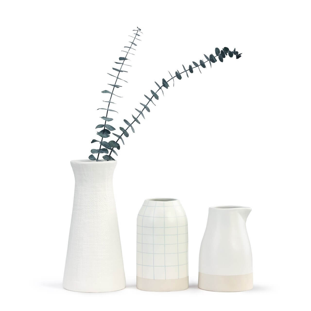 Grid Style Just Because Vase