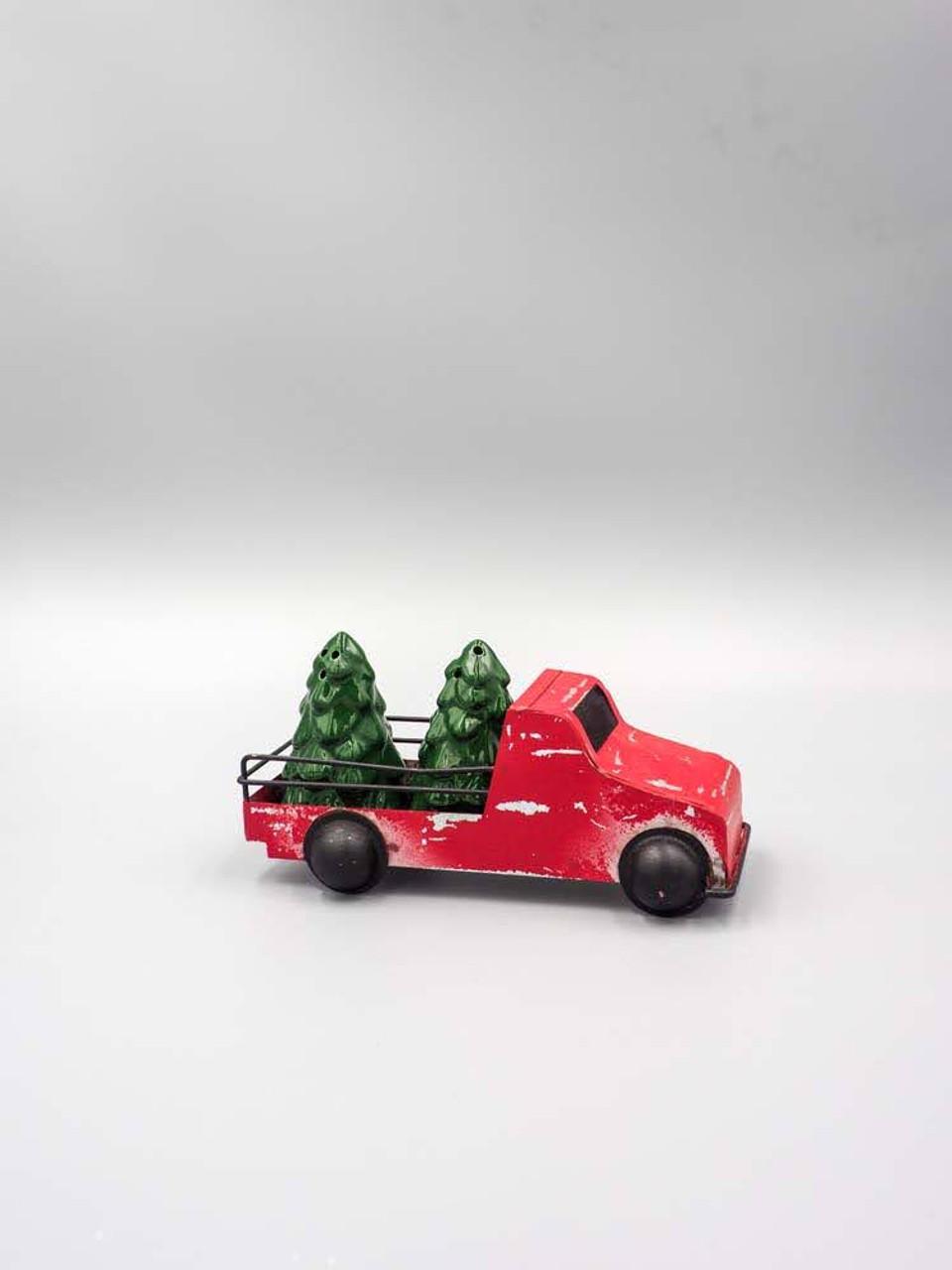 Red Truck Salt & Pepper Set