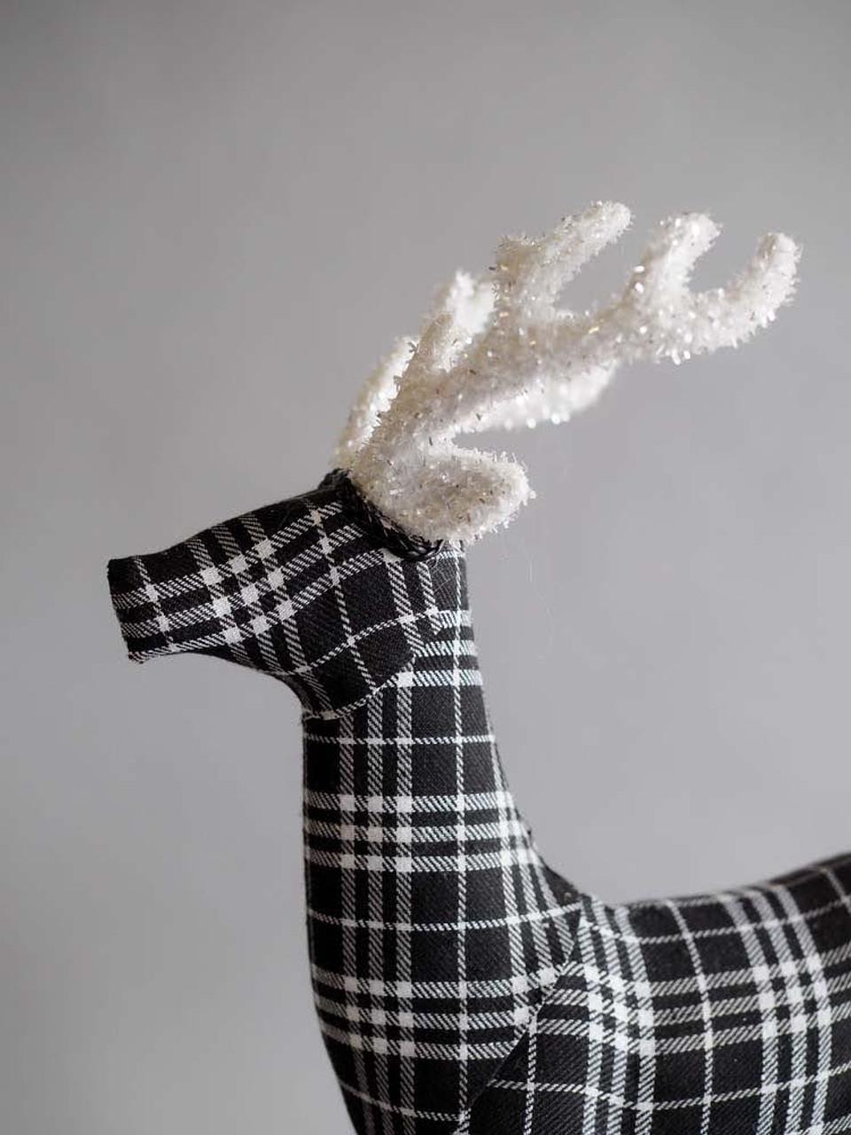 Black & White Deer